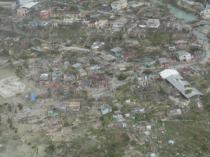 Figure 2: Aerial view of Jeremie in the Gran-Anse. Credit: OCHA/UNDAC