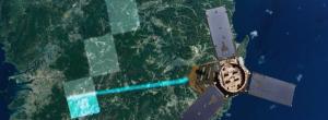 Artist's concept of the Kompsat 3A satellite. Credit: KARI