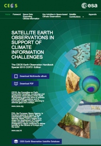 The Climate Edition of the Earth Observation Handbook