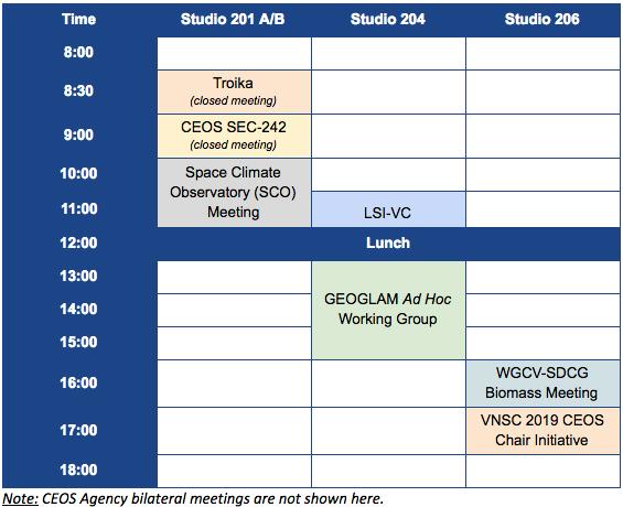 CEOS-32_side_meetings