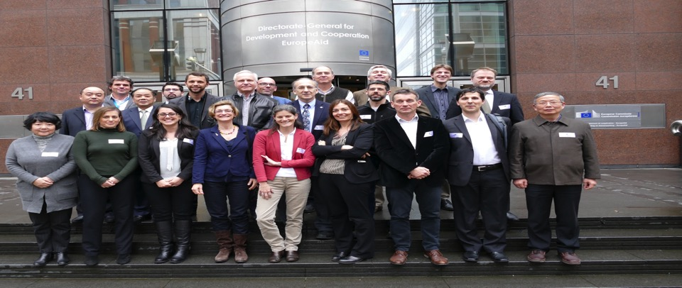 WGDisasters Meeting 9, hosted by the European Commission, in Brussels.